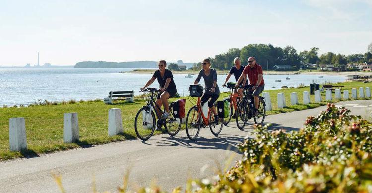 Start of the biking season in Denmark